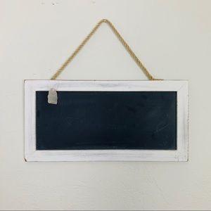 Framed Chalkboard Wall Decor Hanging Distressed